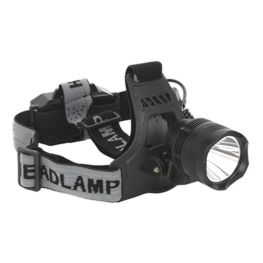 Sealey - HT105LED Head Torch 3W CREE LED Rechargeable