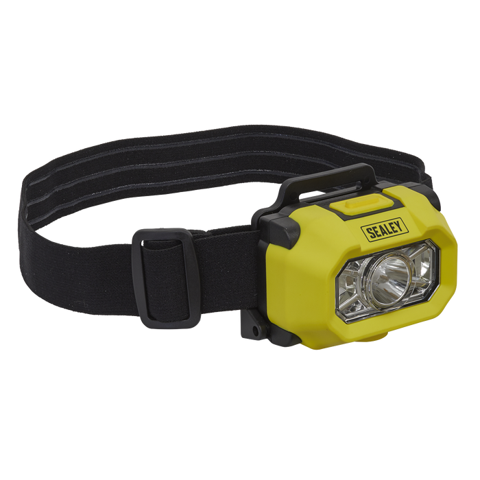 Sealey - HT452IS Head Torch XP-G2 CREE LED Intrinsically Safe