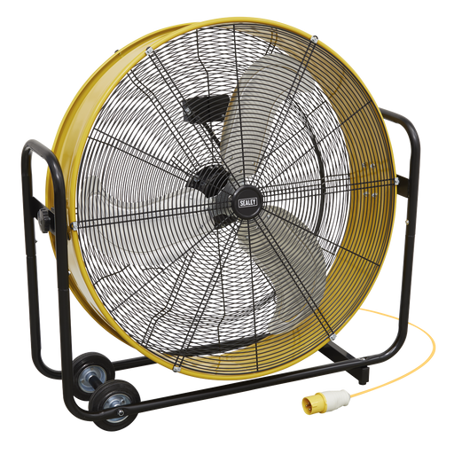 "Sealey - HVD30110V Industrial High Velocity Drum Fan 30"" 110V"