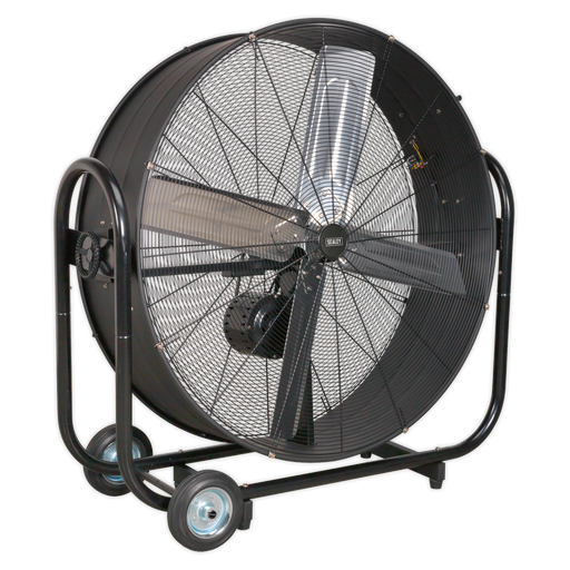 "Sealey - HVD42B Industrial High Velocity Drum Fan 42"" Belt Drive 230V"