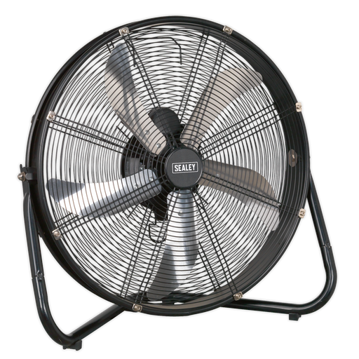 "Sealey - HVF20 Industrial High Velocity Floor Fan 20"" 230V"