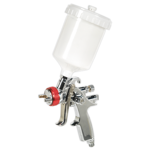 Sealey - HVLP746 HVLP Gravity Feed Spray Gun 1.3mm Set-Up