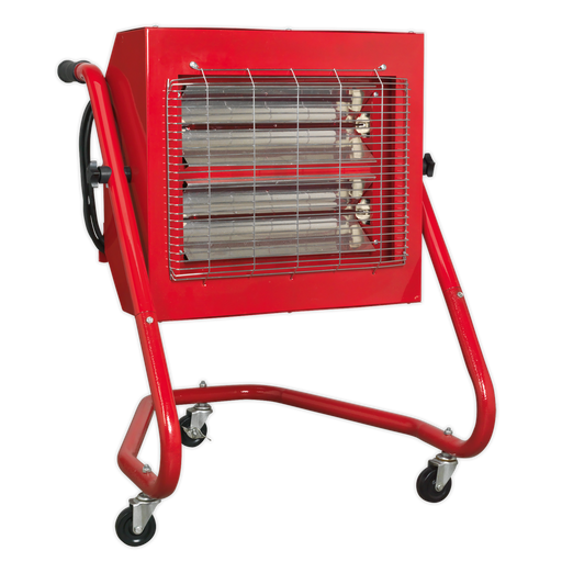 Sealey - IRS153 Infrared Halogen Heater 1.5/3kW 230V