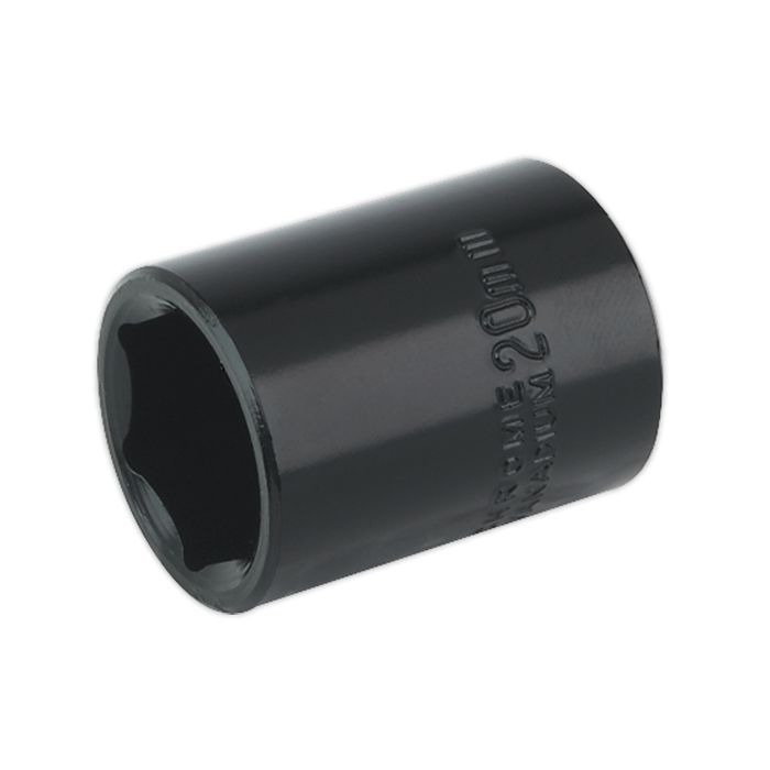 "Sealey - IS1220 Impact Socket 20mm 1/2""Sq Drive"