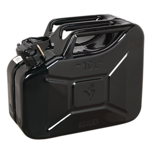 Sealey - JC10B Jerry Can 10ltr - Black