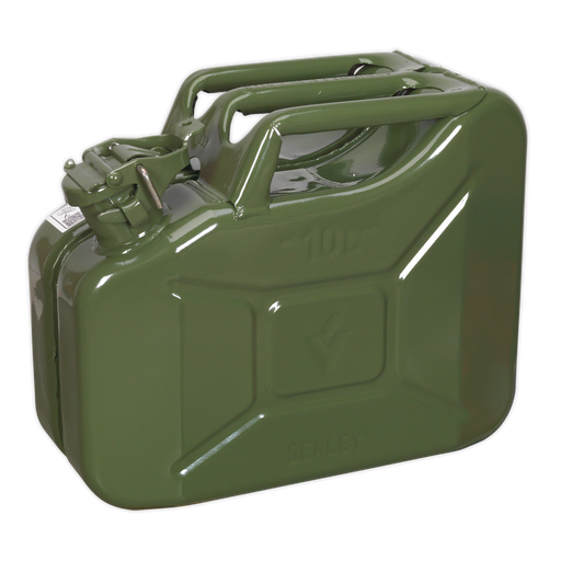 Sealey - JC10G Jerry Can 10ltr - Green