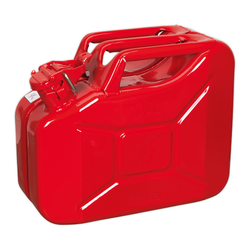Sealey - JC10 Jerry Can 10ltr - Red