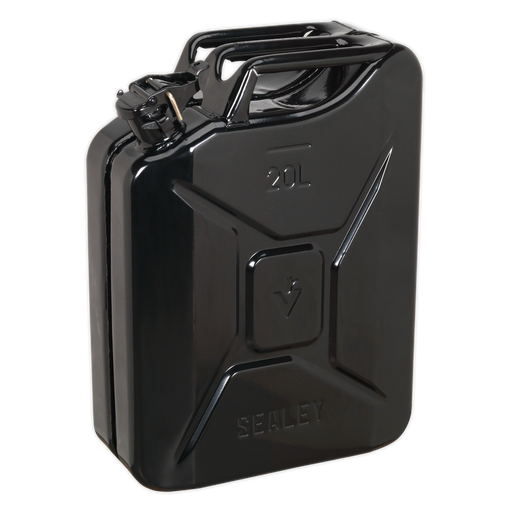 Sealey - JC20B Jerry Can 20ltr - Black