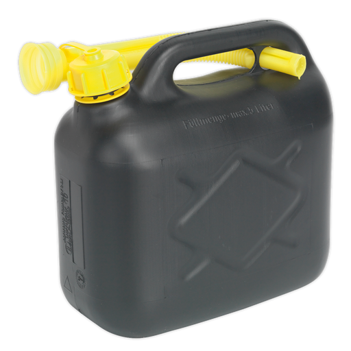 Sealey - JC5B Fuel Can 5ltr - Black