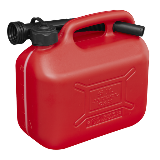 Sealey - JC5R Fuel Can 5ltr - Red