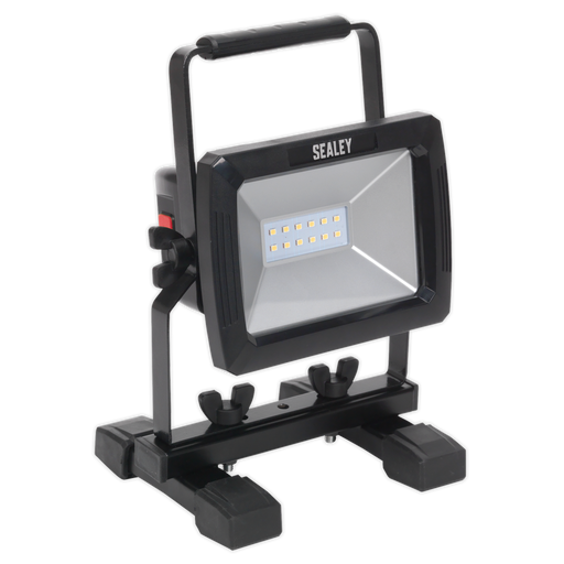 Sealey - LED084 Rechargeable Portable Floodlight 10W SMD LED