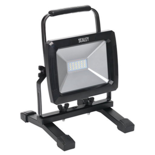 Sealey - LED093 Portable Floodlight 20W SMD LED 110V
