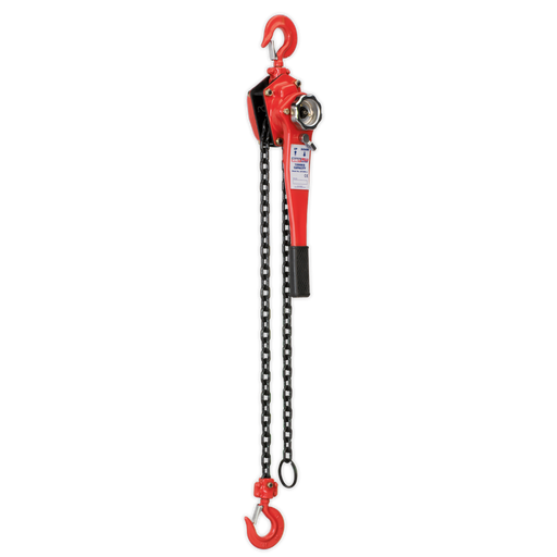 Sealey - LH1500 Lever Hoist Steel 1500kg