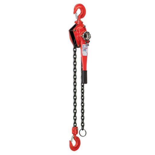 Sealey - LH3000 Lever Hoist Steel 3000kg