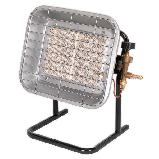 Sealey - LP14 Space Warmer® Propane Heater with Stand 10,250-15,354Btu/hr