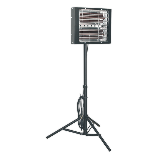 Sealey - LP3000 Infrared Quartz Heater - Tripod Mounted 3000W/230V
