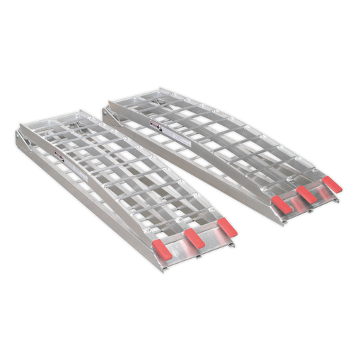 Sealey - LR680 Aluminium Loading Ramps 680kg Capacity per Pair