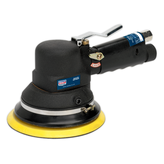 Sealey - MAT150AS Air Sander Random Orbital Dust-Free Ø150mm