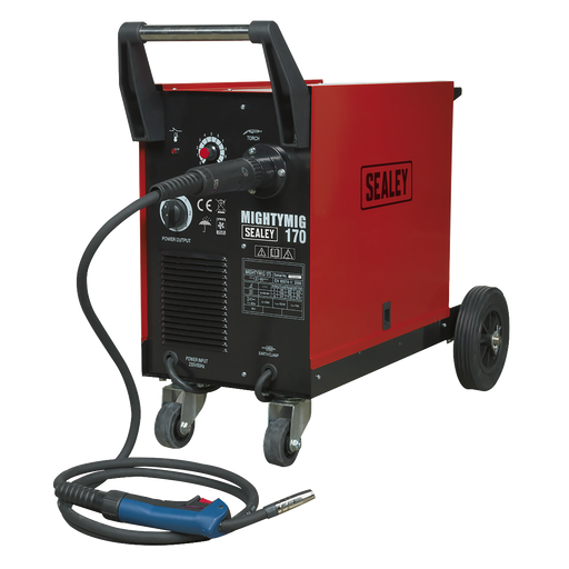 Sealey - MIGHTYMIG170 Professional Gas/No-Gas MIG Welder 170Amp with Euro Torch