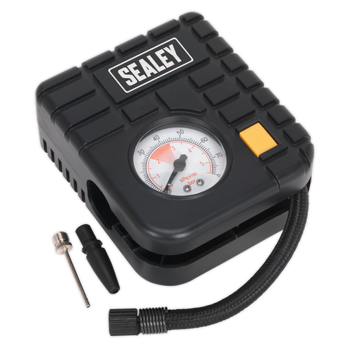 Sealey - MS163 Micro Air Compressor with Work Light 12V