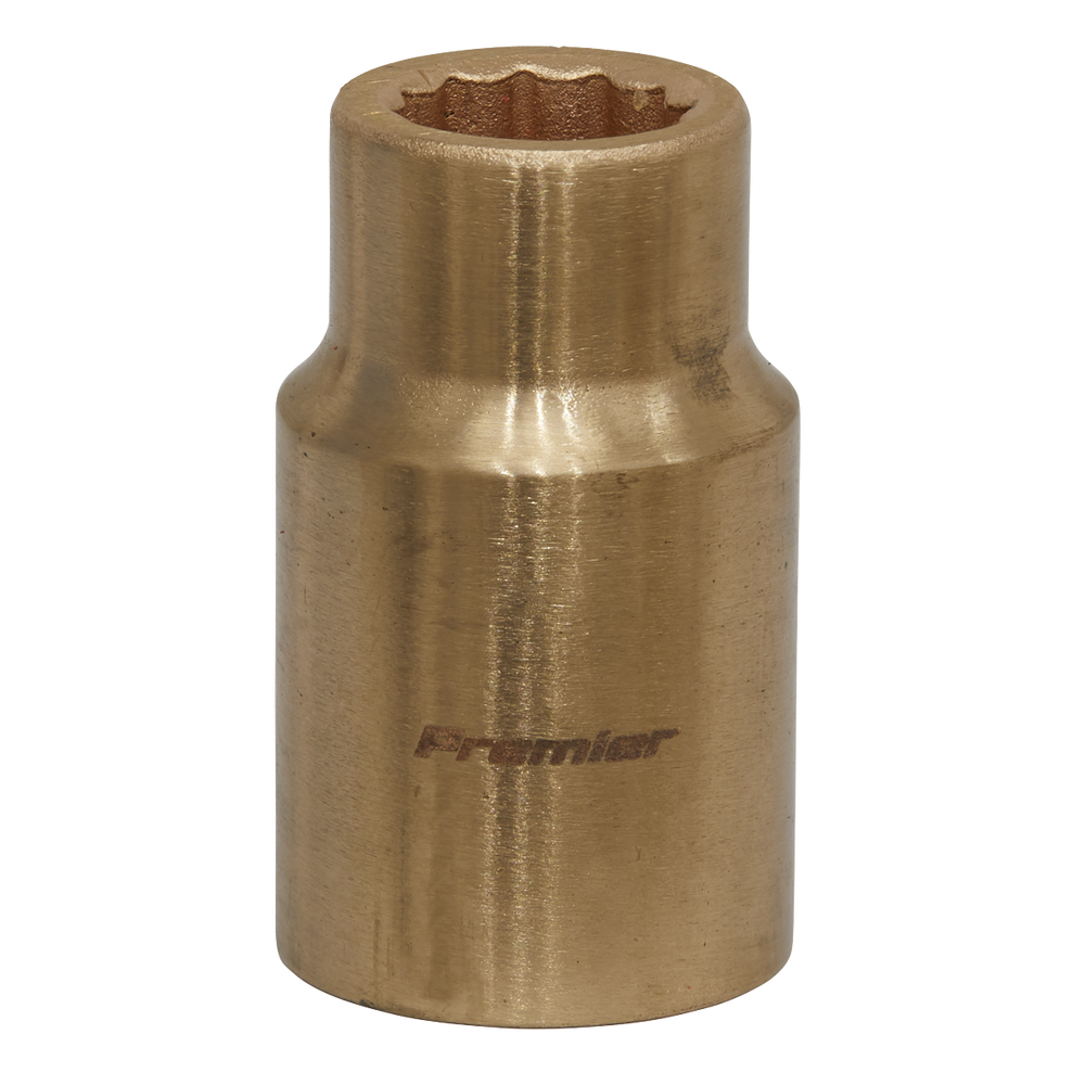 "Sealey - NS045 Socket 12mm 1/2""Sq Drive Non-Sparking WallDrive®"