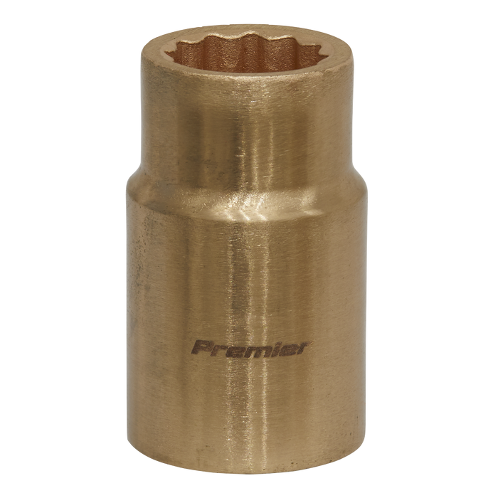 "Sealey - NS047 Socket 14mm 1/2""Sq Drive Non-Sparking WallDrive®"