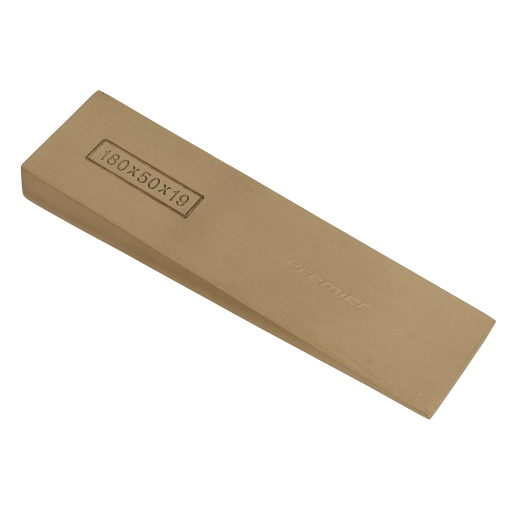 Sealey - NS121 Wedge 180 x 50 x 19mm Non-Sparking
