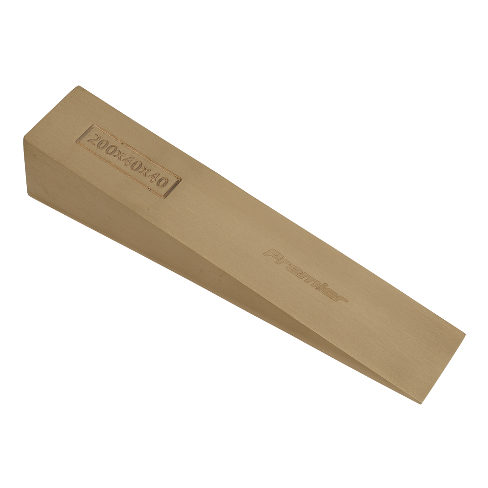 Sealey - NS122 Wedge 200 x 40 x 40mm Non-Sparking