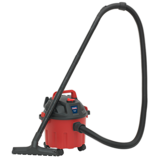 Sealey - PC102 Vacuum Cleaner Wet & Dry 10ltr 1000W/230V