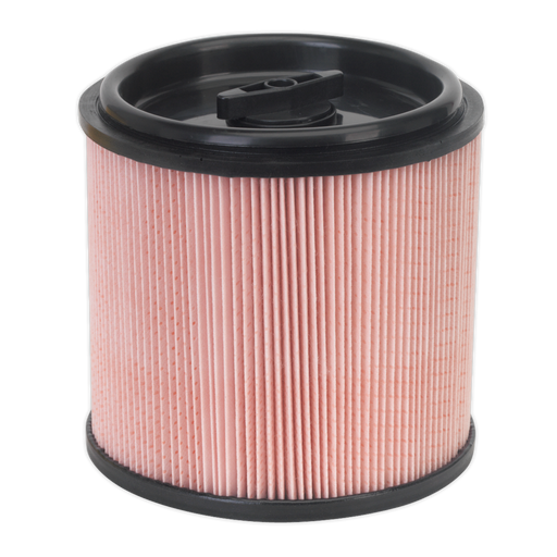 Sealey - PC200CFF Cartridge Filter for Fine Dust for PC200 & PC300 Series