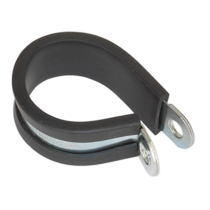 Sealey - PCJ35 P-Clip Rubber Lined Ø35mm Pack of 25