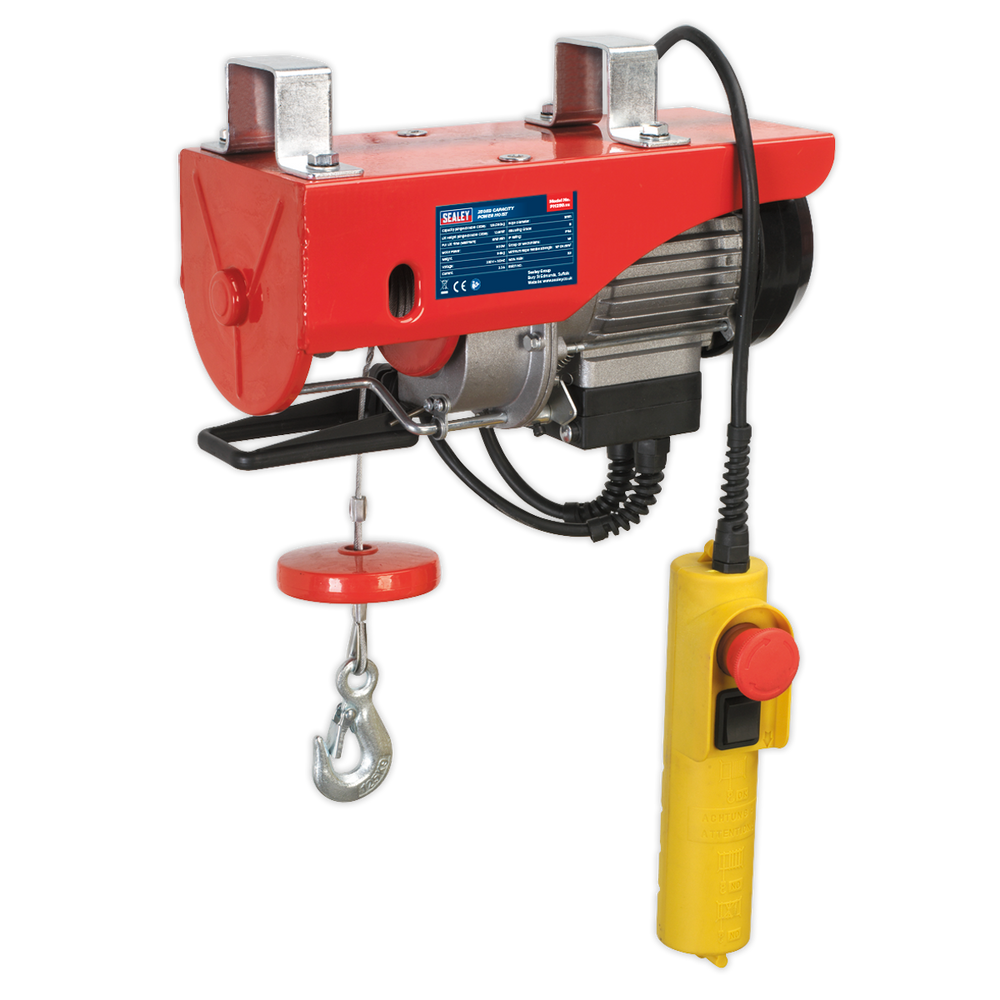 Sealey - PH250 Power Hoist 230V/1ph 250kg Capacity