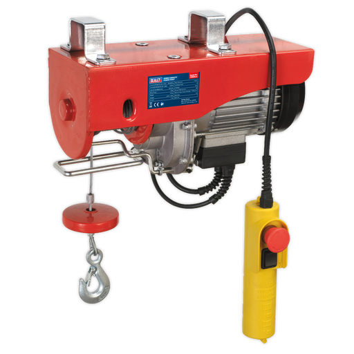 Sealey - PH400 Power Hoist 230V/1ph 400kg Capacity