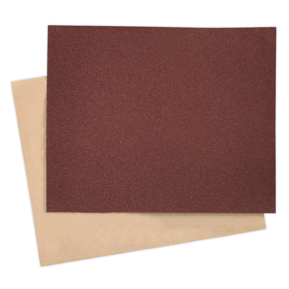 Sealey - PP232860 Production Paper 230 x 280mm 60Grit Pack of 25