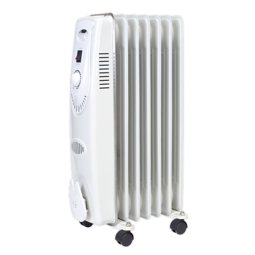 Sealey - RD1500 Oil Filled Radiator 1500W/230V 7 Element