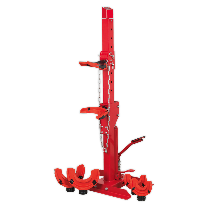 Sealey - RE2311 Coil Spring Compressing Station with Gauge Hydraulic 2000kg Capacity