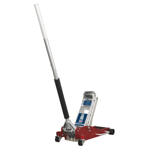 Sealey - RJA2500 Trolley Jack 2.5tonne Low Entry Aluminium Rocket Lift