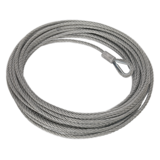 Sealey - RW8180.WR Wire Rope (Ø13mm x 25m) for RW8180