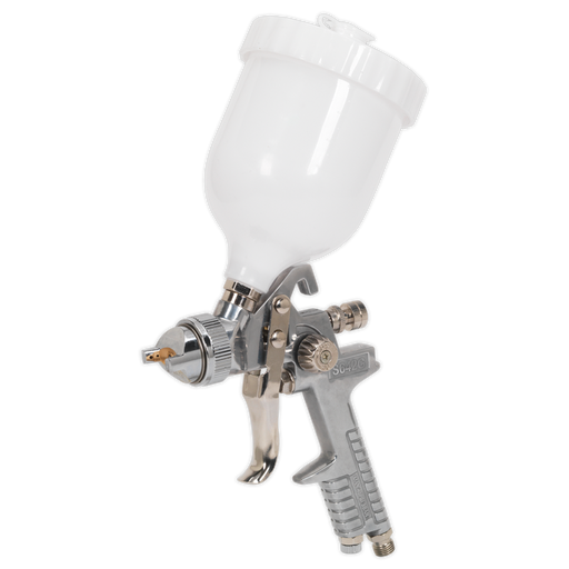 Sealey - S642G Spray Gun Gravity Feed 1.8mm Set-Up