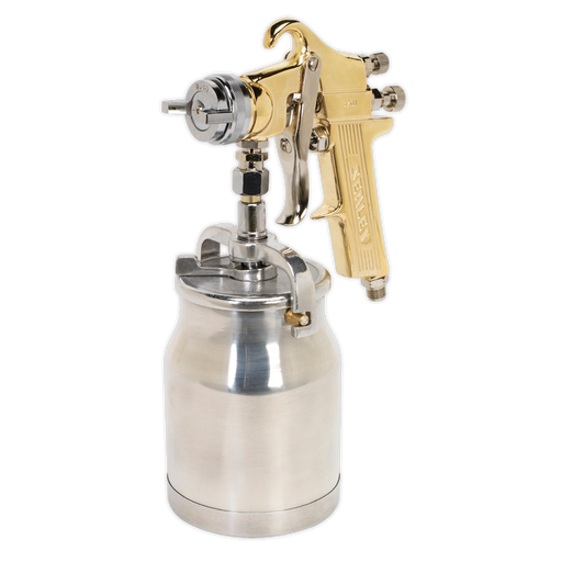 Sealey - S701 Spray Gun Professional Suction Feed 1.8mm Set-Up