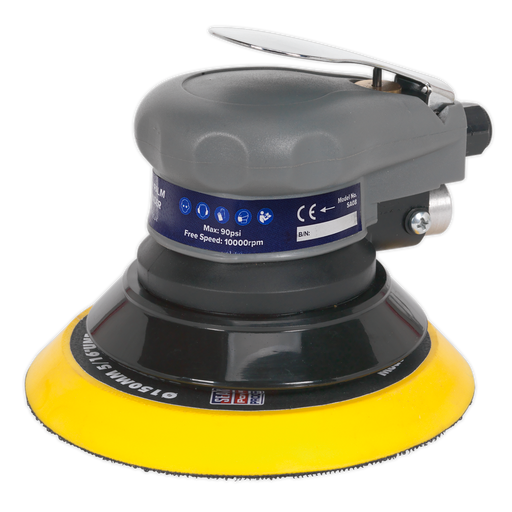 Sealey - SA08 Air Palm Orbital Sander Ø150mm