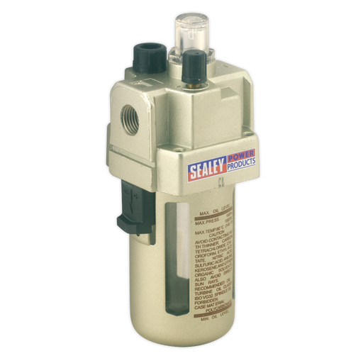 Sealey - SA106L Air Lubricator Max Airflow 60cfm