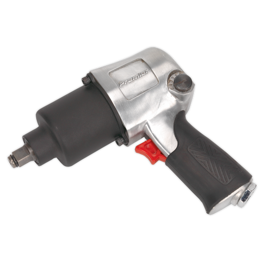 "Sealey - SA602 Air Impact Wrench 1/2""Sq Drive - Twin Hammer"