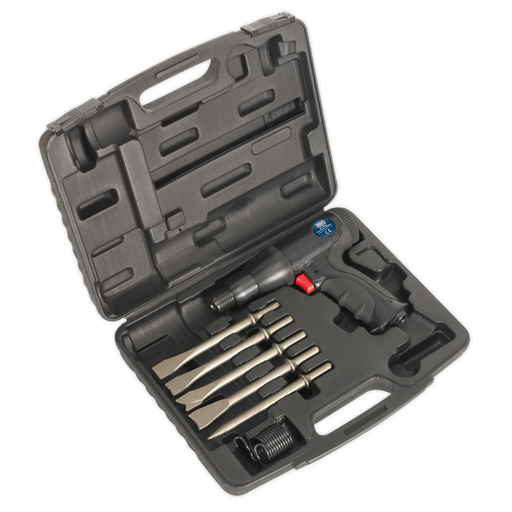 Sealey - SA614 Air Hammer Kit Composite Premier - Long Stroke