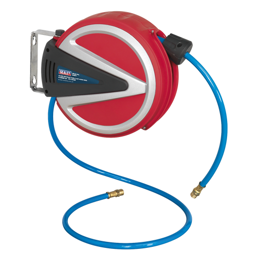 Sealey - SA811 Retractable Air Hose Reel 6.5m Ø6.5mm ID - PU Hose
