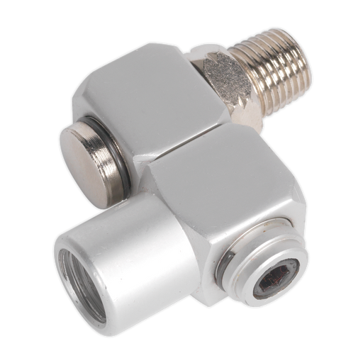 "Sealey - SA902 Z-Swivel Air Hose Connector 1/4""BSP"