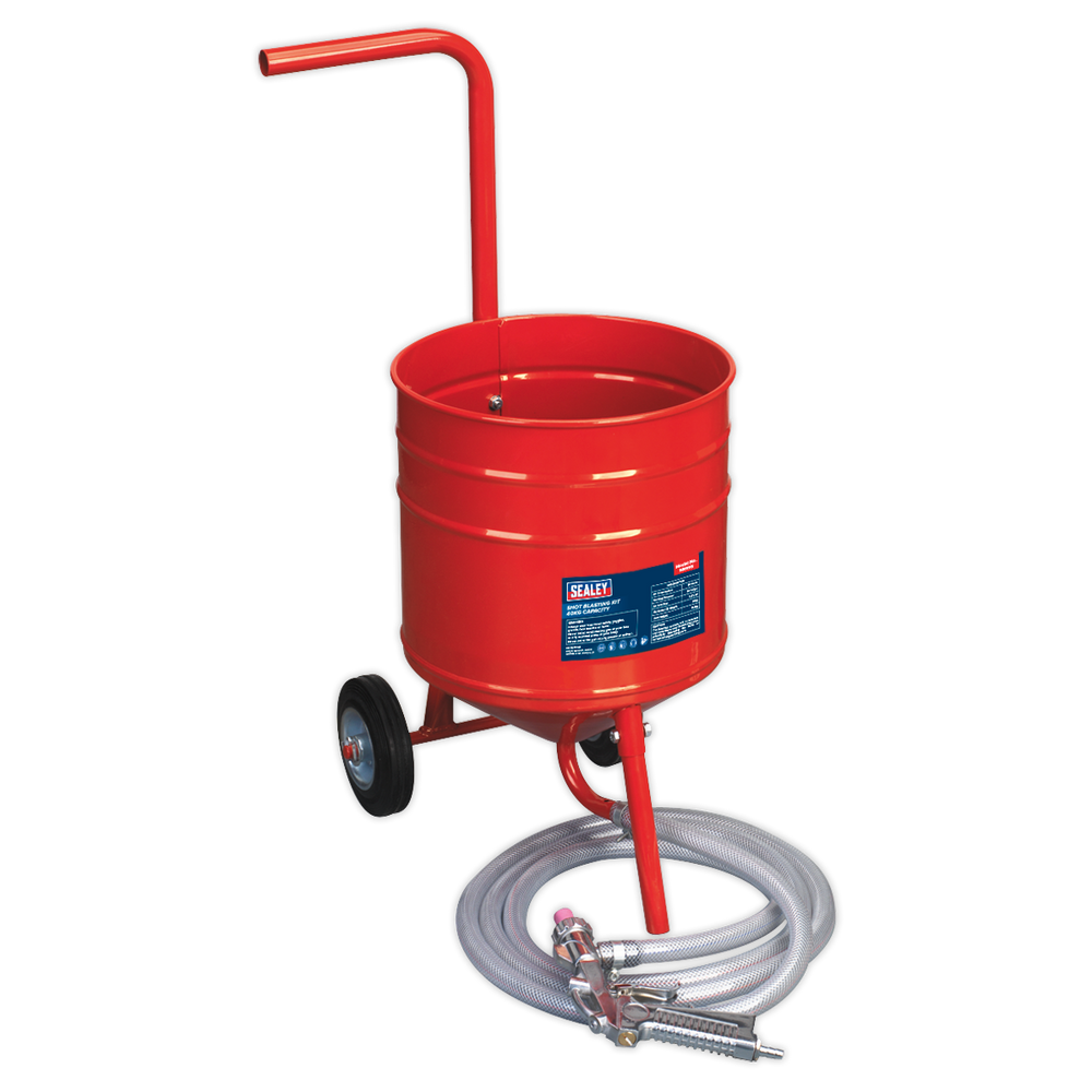 Sealey - SB994 Shot Blasting Kit 22.6kg Capacity