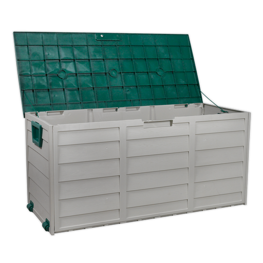 Sealey - SBSC01 Outdoor Storage Box 460 x 1120 x 540mm Polypropylene