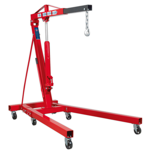 Sealey - SC10 Folding Crane 1tonne 'KD' Type