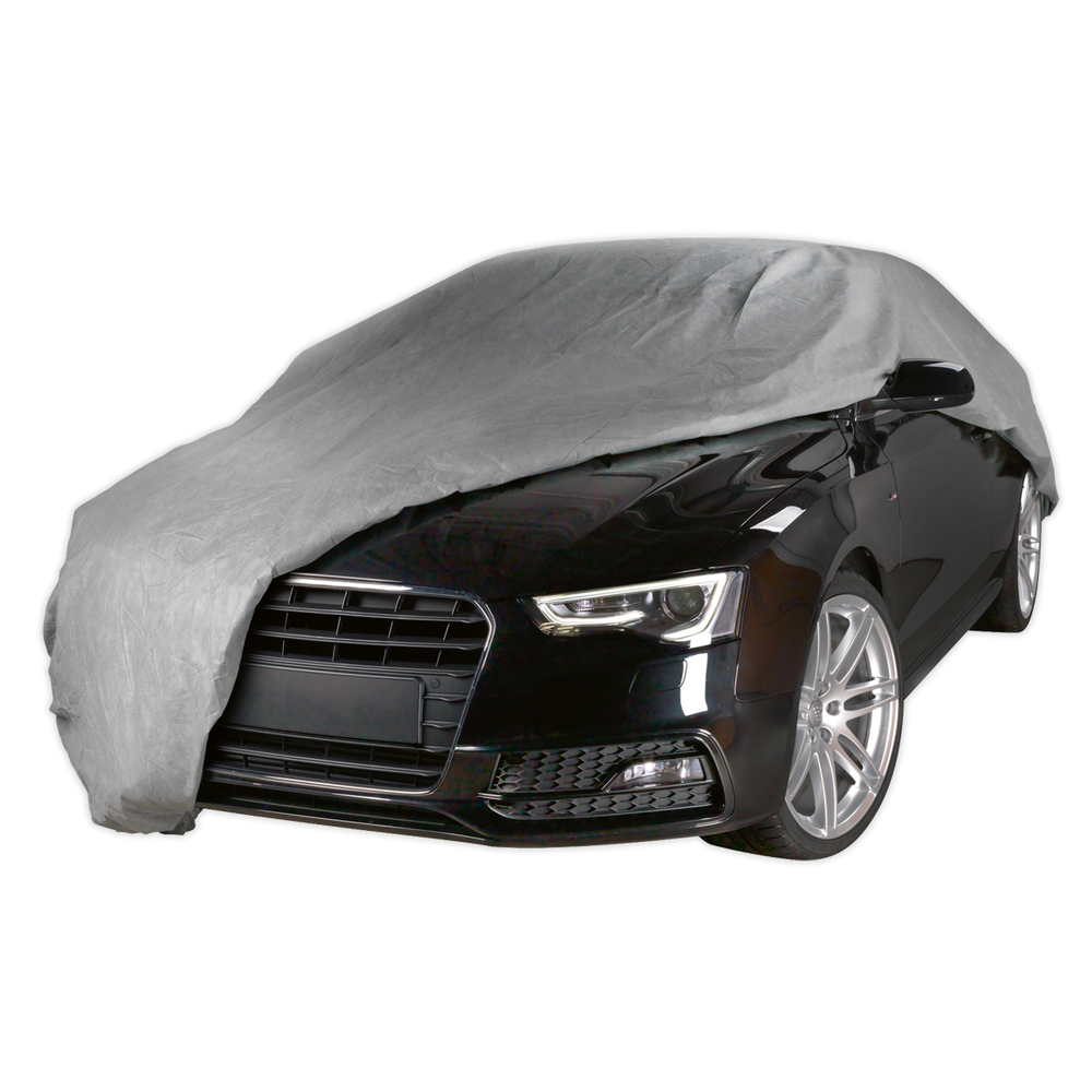 Sealey - SCCXL All Seasons Car Cover 3-Layer - Extra Large
